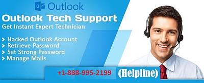 Outlook Customer Service Number Poster