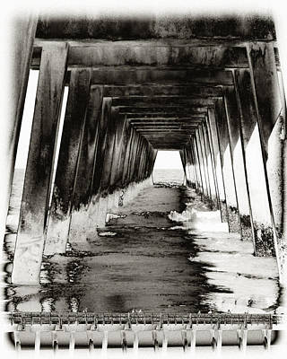 Over Under-tybee Island Poster by Ann Tracy