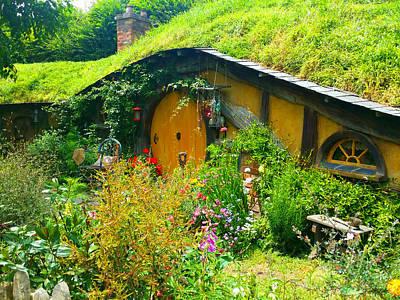 Overgrown Hobbit Garden Poster by Kathy Kelly