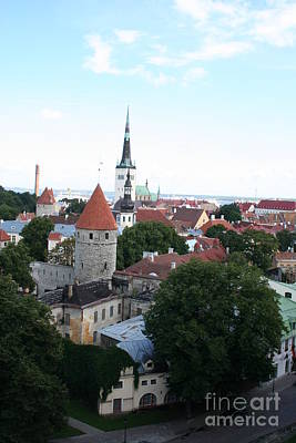 Overview - Tallinn Poster