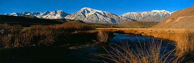 Owens River Valley Bishop Ca Poster by Panoramic Images