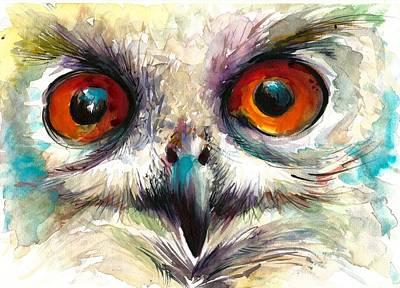 Owl Eyes - Detail Poster