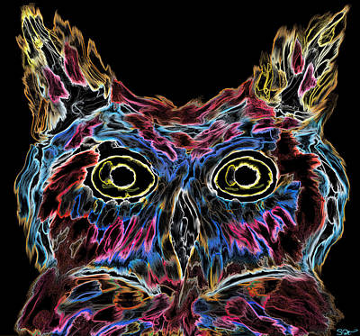Owl Is Well Tonight Poster
