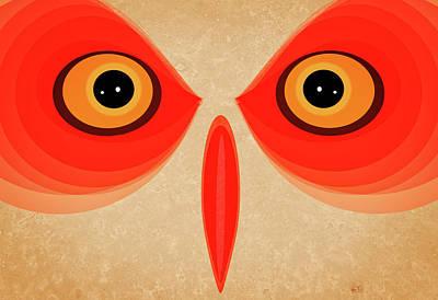 Owl Poster by Johan Lilja