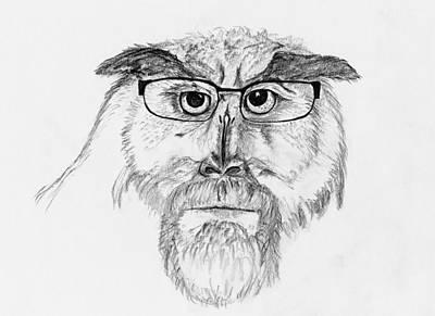 Owl Man Poster