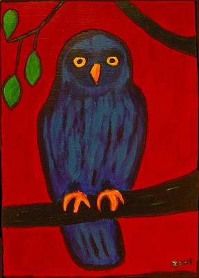 Owl Uggla Poster