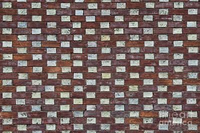Oxford Brick Wall Poster