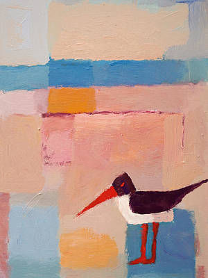 Oystercatcher On The Beach Poster