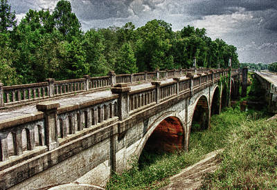 Ozark Alabama Bridge Poster by Frank Feliciano