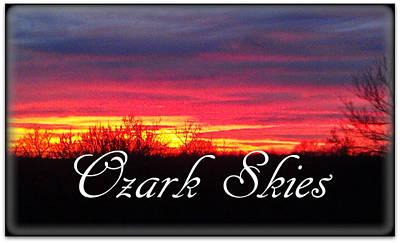Ozark Skies Poster by Lesli Sherwin