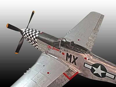 P-51 Etta Jeanne II Poster by Gill Billington