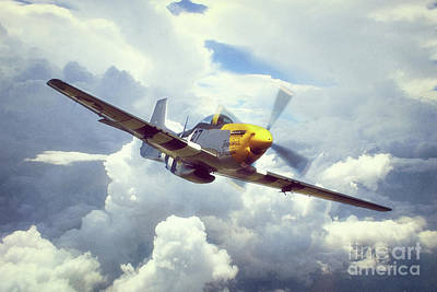 P51 Mustang - Frankie Poster
