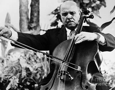 Pablo Casals (1876-1973) Poster by Granger