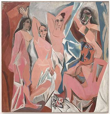 Pablo Picasso   Les Demoiselles D'avignon Poster