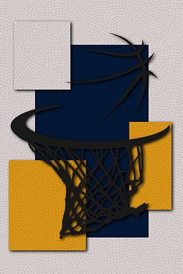 Pacers Hoop Poster by Joe Hamilton