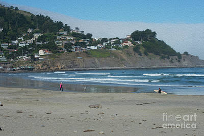 Poster featuring the photograph Pacifica California by David Bearden