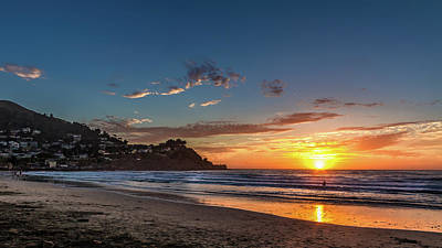 Pacifica Sunset Poster