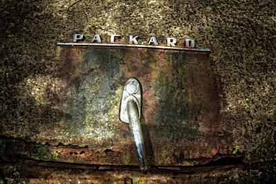 Packard Emblem Poster by Debra and Dave Vanderlaan