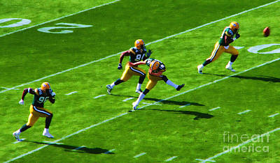 Packers Kick Poster