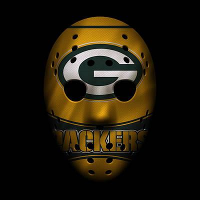 Packers War Mask 2 Poster by Joe Hamilton