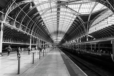Paddington Station Poster