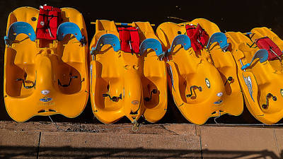 Paddle-boat Armada Poster