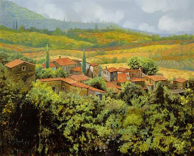 Paesaggio Toscano Poster