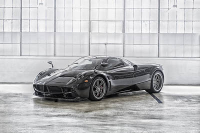 Poster featuring the photograph Pagani Huayra by ItzKirb Photography