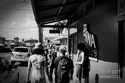 Paia Maui Hawaii Street Photography Poster by Sharon Mau