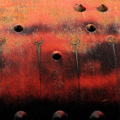 Painted Boiler Tank Poster by Art Block Collections