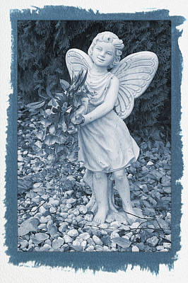 Painted Fairy  Poster by Aimee L Maher Photography and Art Visit ALMGallerydotcom