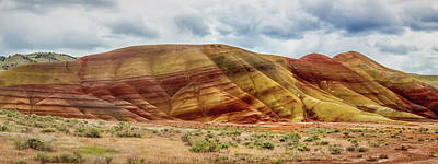 Painted Hills Panorama 2 Poster