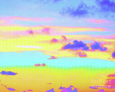 Painted Skies Poster