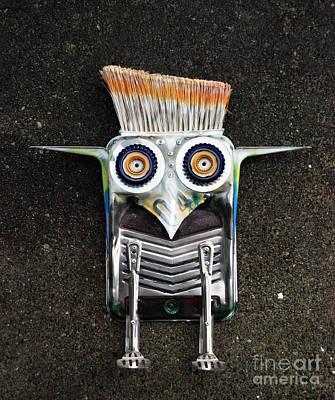 Painter Bird  Poster