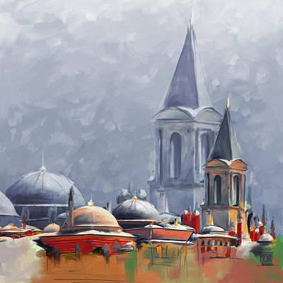 Painting 766 3 Hagia Sophia Poster