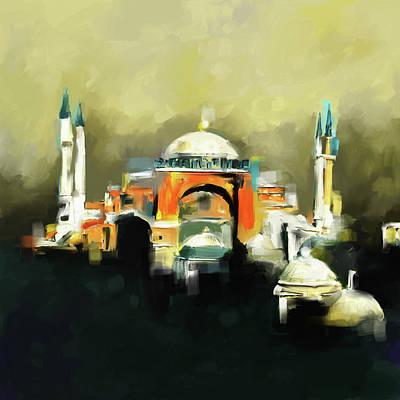 Painting 768 1 Hagia Sophia Poster