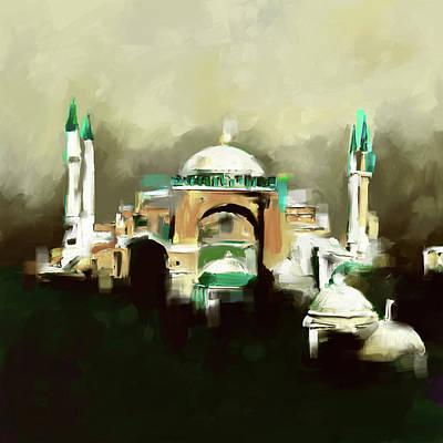 Painting 768 2 Hagia Sophia Poster