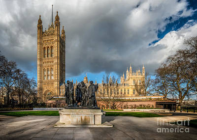 Palace Of Westminster Poster by Adrian Evans