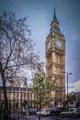 Palace Of Westminster London Poster