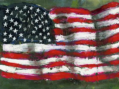 Palette Flag Poster