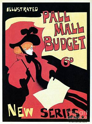 Pall Mall Budget Magazine Advert London Poster by Heidi De Leeuw