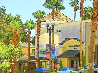 Palm Desert El  Paseo Poster