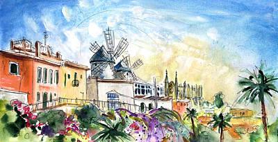Palma De Mallorca Panoramic 03 Poster by Miki De Goodaboom