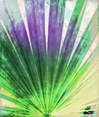 Palmetto Abstract No. 2 Poster