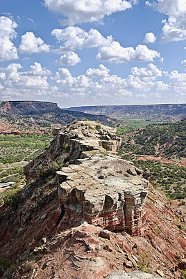 Palo Duro Canyon Poster by Melany Sarafis