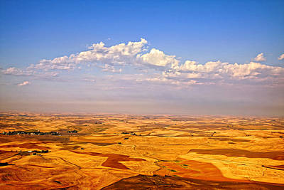 Palouse Clouds Poster by Mary Jo Allen
