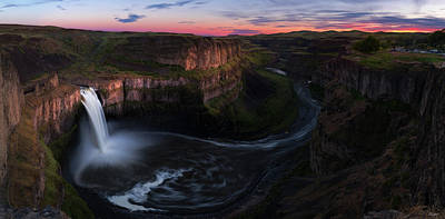 Palouse Falls Poster by C Steele