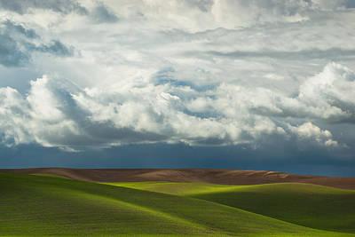 Palouse Hills Poster by Thorsten Scheuermann