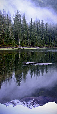 Pamelia Lake Reflection Poster