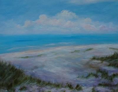 Panama City Beach II Colors Of The  Gulf Coast Poster by Phyllis OShields